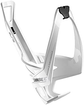 Black Graphic Elite Cannibal Xc White Glossy Bottle Cage