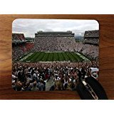 Pad State Penn Mouse - College Football Stadiums Desktop Office Silicone Mouse Pad by Compass Litho