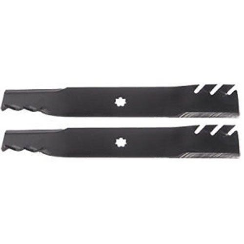 "(2 PACK) LOWES Aftermarket Premium Replacement Predator 17"" x 2-1/2"" 7 Lobe Lawn Mower Deck Blade 