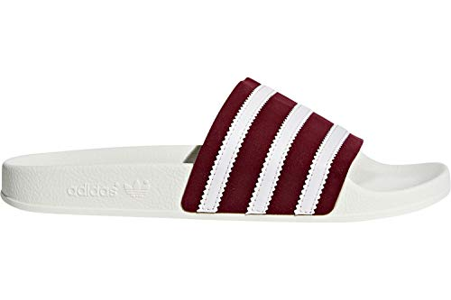 collegiate Adidas White Adilette Burgundy Pantoffeln White Collegiate White Herren off ftwr Rot IS6xSTOq
