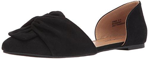 Report Women's Bossina Ballet Flat, Black, 8 Medium US (Womens Shoes Report Flat)