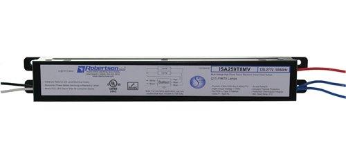 ROBERTSON 3P20124 Fluorescent eBallast for 1/2 F96T8 Linear Lamp, Instant Start, 120-277Vac, 50-60Hz, Normal Ballast Factor, HPF, Model ISA259T8MV /A (Successor item to ROBERTSON 3P20019) Robertson Worldwide CECOMINOD062010