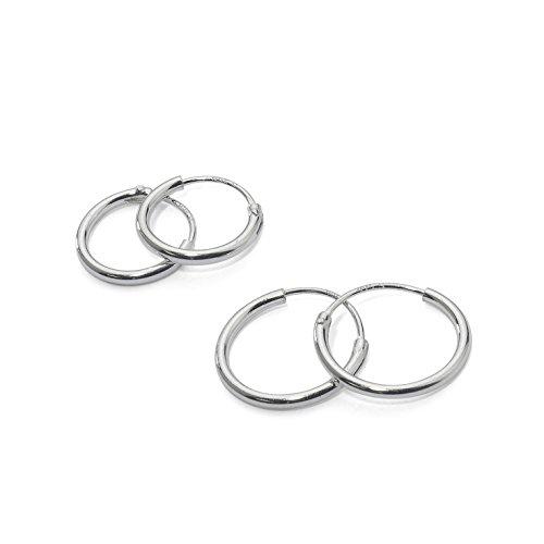 Sterling Silver Endless Earrings Cartilage