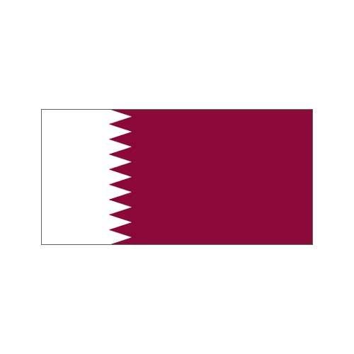 US Flag Store Qatar Flag 3ft x 5ft Polyester
