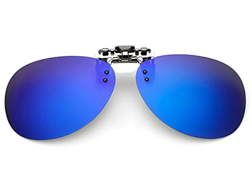 up Mujer Polarizado de Mercurio ELSA Flip Sol Hombre Azul Clip GLS04 Unisex en VF Las amp; Gafas ANNA Hq7xYgI