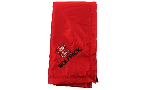 Comfy Feet NCSBB - North Carolina State Wolfpack Baby - Blanket - Officially Licensed - Happy Feet - Ncaa Licensed Pack