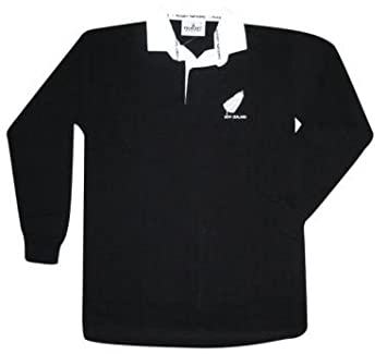 Amazon.com : New Zealand All Blacks Rugby Shirt : Rugby Jerseys ...