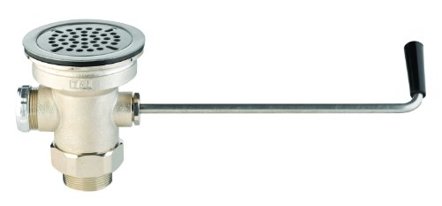T&S Brass B-3940 Waste Drain Valve with Twist Handle
