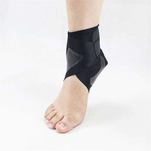 MqbY Support Foot Brace Adjustable Ankle Gear Outdoor Basketball Running Right Foot