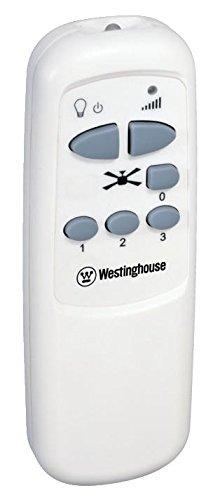 Westinghouse 7242040 Colosseum Ventilateur de plafond 17 W Acier blanc