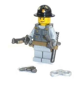 Cheriff Aus Lego Teilen Und Custom Zubehör Wie Hut Gewehr Pistole