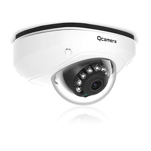 Q-camera Dome Security Camera 1080P HD 4 in 1 TVI CVI AHD CVBS Analog CCTV Camera 1 2.9 Sensor 2.8mm Lens 33ft IR Night Vision for Indoor Outdoor Home Video Surveillance System