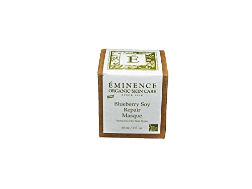 - Eminence Organic Skincare Blueberry Soy Repair Masque, 2 Fluid Ounce