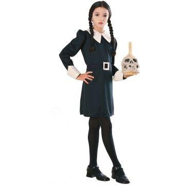 The Addams Family Costumes Wednesday (Wednesday Addams Child Costume - Medium)