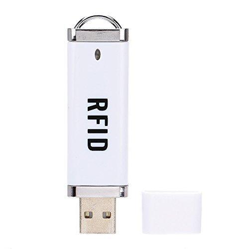 KKmoon Portable RFID 125KHz Proximity Smart EM Card USB ID Reader Win8/Android/OTG Supported (Range Proximity Reader)