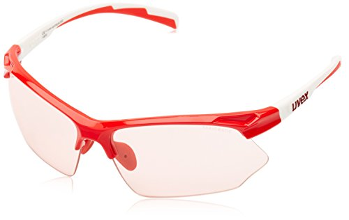 Uvex Sportstyle 802 Vario Red-White Glasses - Tinting Sunglasses