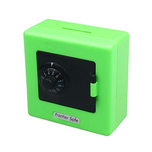 iuuhomeCombination Lock Money Coin Saving Storage Box Code Cash Safe Case Piggys Bank (Green) from iuuhome_ Home & kitchen