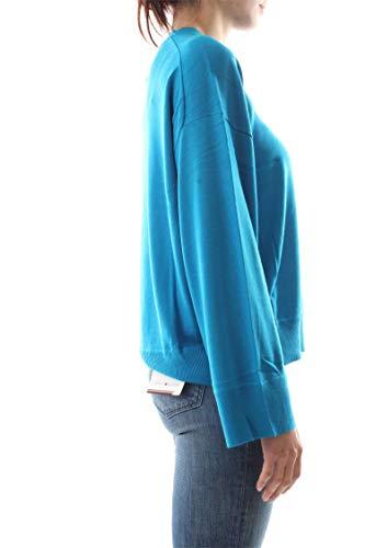 Bleu Clair Femme C Klein Pull Calvin neck K20k200566 Sgq0BwnnxY