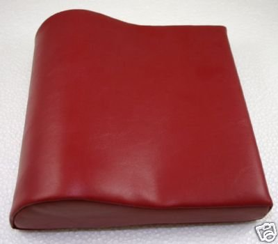 Deluxe Cherry Contour Vinyl Tanning Bed Pillow by Varel
