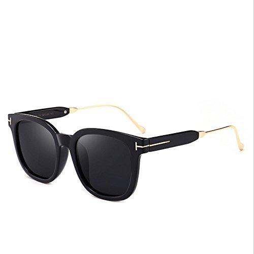 viaja Que Cuadrado para al Gu Sol Aire Libre Conducción de de C1 Peggy UV Mujeres Forma Color Protección Marco Coloreada Grande Gafas C1 Lente CROtqH
