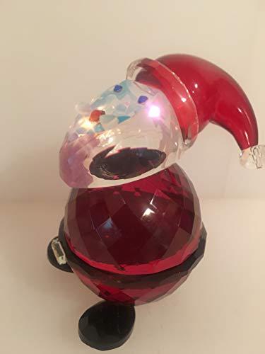 - Simon Designs Santa Claus Crystal Figurine