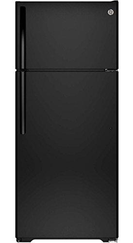 Ge Black Top Freezer Refrigerator - 9