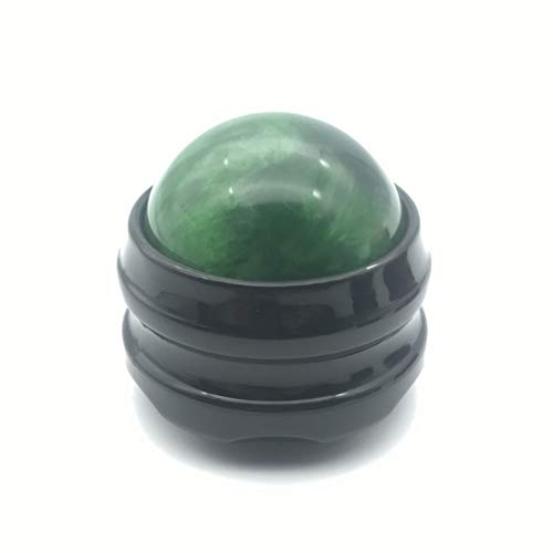 JuneKama Portable Manual Massage Roller Ball Massage Body Therapy Foot Hip Back Relaxer-green