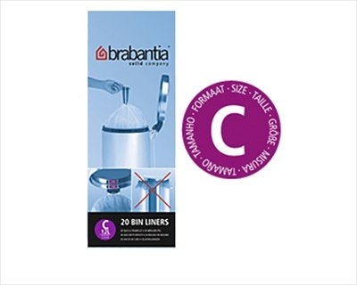 Bolsa de basura Brabantia 12 litros [c] 20 por bolsa de ...
