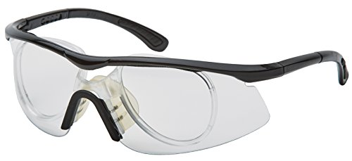 Unique Sports Clear Protective Sports Eyewear with Prescription Adapter
