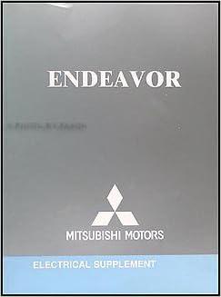 2005 Mitsubishi Endeavor Wiring Diagram Manual Original: Mitsubishi:  Amazon.com: BooksAmazon.com