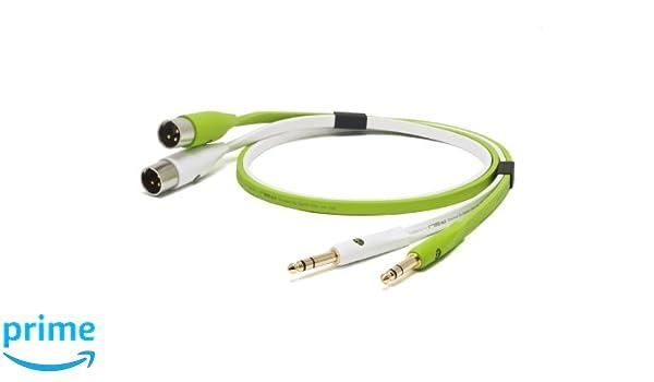Neo NEO TXMB 3M 3 m de 0,25 a TRS XLR macho d TXM cable Clase B: Amazon.es: Instrumentos musicales