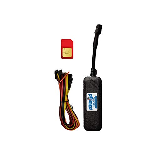 Acumen Track 900A(Inbuilt Battery, Water Proof) GPS Tracker with 6 Month Free App and Mobile Data GPS Device