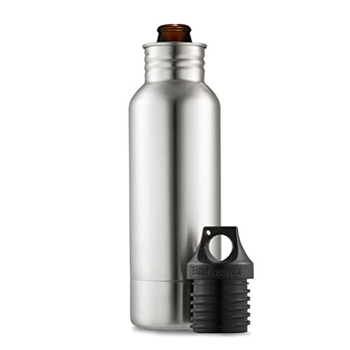 BottleKeeper - The Original Stainless Steel Beer Bottle Holder and Insulator to Keep Your Beer Colder
