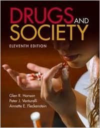 Book Drugs And Society (Hanson, Drugs and Society) 11th (eleventh) edition