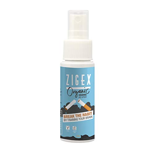 Quit Smoking by ZigEX | Spray to Stop Smoking Cigarettes 100ml| Healthy Intelligent Training | Alternative to E Cigarette and Nicotine Gum