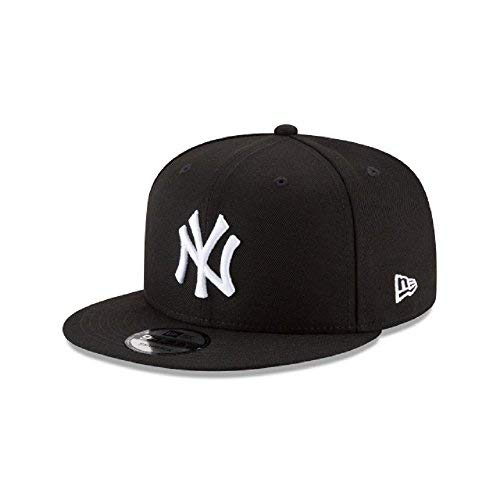 New Era New York Yankees Basic Black and White 9FIFTY Snapback 950