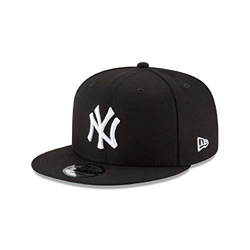 New Era New York Yankees Basic Black and White 9FIFTY Snapback 950 from New Era
