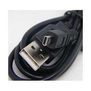 USB USB-2, USB-3 - Cable Cord USB USB-2, USB-3 - Cable Cord Lead Wire for Konica Minolta Dimage - A200, E323, E500 Digital Camera Cable - 5 Feet Black – Bargains Depot®