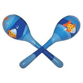 Sassafras Diddy Doo Dahs Musical Instruments Maracas Fish (Sassafras Kids Fish)