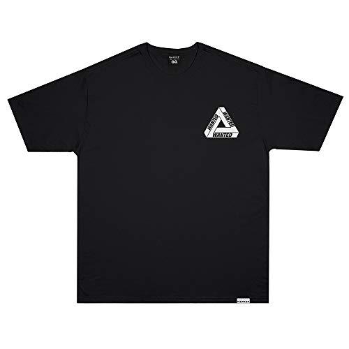 Camiseta Wanted - Escher v2 preto Cor:Preto;Tamanho:G