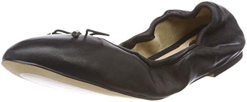 Buffalo Damen 1845 Geschlossene Ballerinas Schwarz (Black 01)