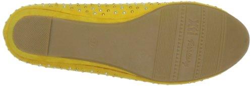 XTI 25888 SP13 Damen Ballerinas Gelb (amarillo(gelb) X30)