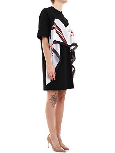 Vestito Nero 2641mda6319529899 Donna Msgm Cotone PFdw88q