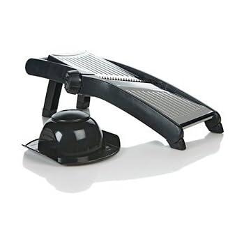 The Sharper Image 378 Stainless Steel 3 in 1 Adjustable Mandoline Slicer