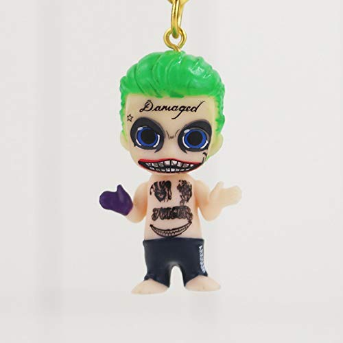Suicide Squad Llavero 3D PVC Figura Joker: Amazon.es ...
