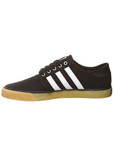 Adidas Original Hommes Seeley Essentials Formateurs Core Us9 Noir