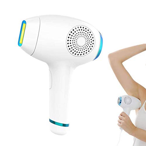 IPL Hair Removal System for Women Men Body Face, Home Electric Painless ICE Cool Epilator Permanent Hair Removal Device with Touch LCD Screen