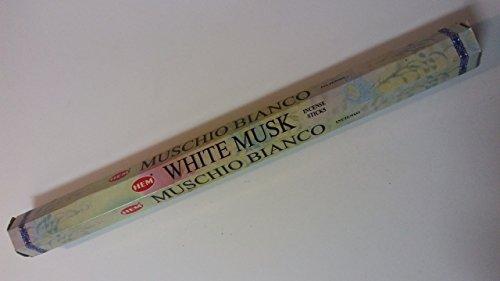 almizcle blanco 16inch Jumbo varillas de incienso por dobladillo–10varillas