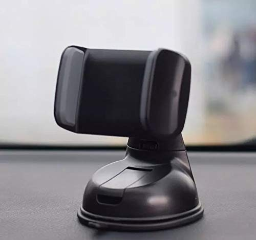 Dashboard Car Windshield Cell Phone Holder Mounting Kit Clamp (Black/Gray) ()