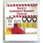 [Safety Lockout/Tagout Center, Unfilled] (Tagout Center)